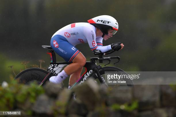 Hayley Simmonds of The United Kingdon / during the 92nd UCI Road World Championships 2019 Women Elite Individual Time Trial a 303km Individual Time...