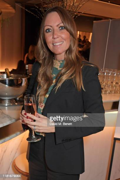 Hayley Smith attends a lunch hosted by Amanda Staveley for 'Wellbeing Of Women', Britain's foremost female health charity investing in pioneering...