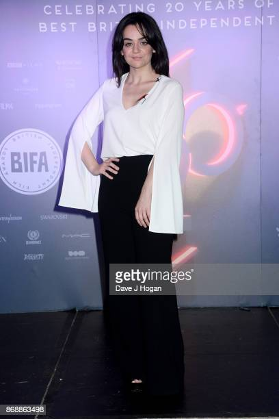 Hayley Squires attends the British Independent Film Awards Nominations at The London Edition on November 1 2017 in London England
