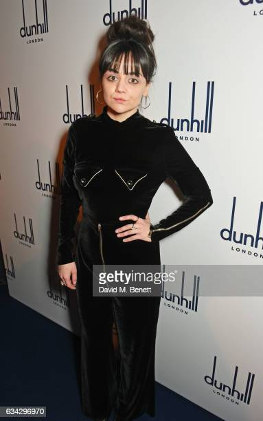 Hayley Squires attends the dunhill and Dylan Jones preBAFTA dinner and cocktail reception celebrating Gentlemen in Film at Bourdon House on February...