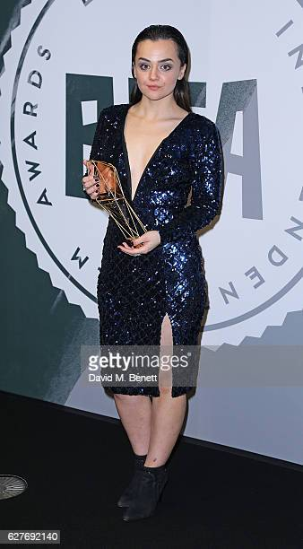 Hayley Squires poses at The British Independent Film Awards Old Billingsgate Market on December 4 2016 in London England