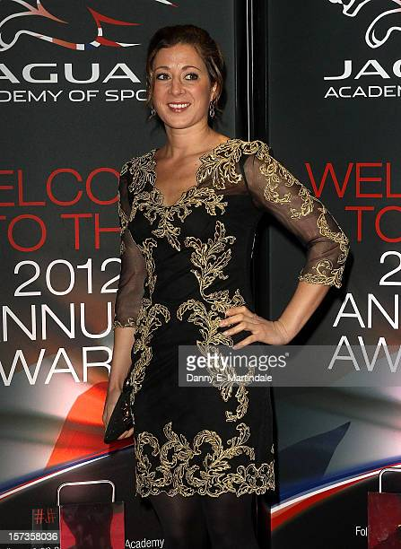 Hayley Turner attends the Jaguar Academy of Sports awards at The Savoy Hotel on December 2 2012 in London England