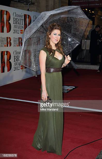 Hayley Westenra attends the Classic BRIT Awards at Royal Albert Hall on October 2 2012 in London England