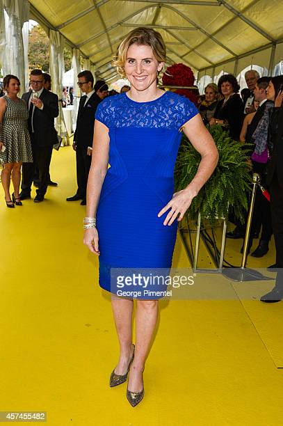 Hayley Wickenheiser attends the 2014 Canada's Walk Of Fame Awards at the Sony Centre on October 18 2014 in Toronto Canada