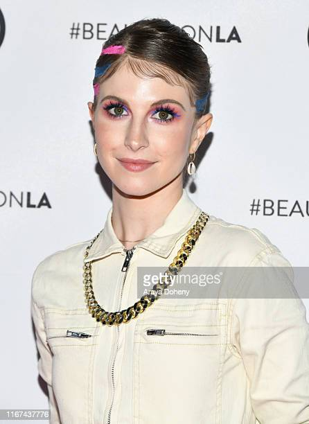 Hayley Williams attends Beautycon Festival Los Angeles 2019 at Los Angeles Convention Center on August 11 2019 in Los Angeles California