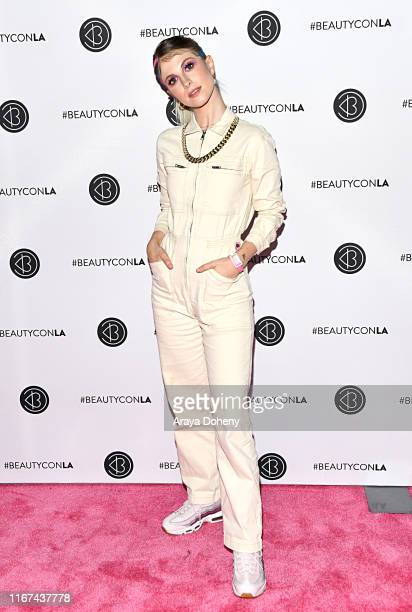 Hayley Williams attends Beautycon Festival Los Angeles 2019 at Los Angeles Convention Center on August 11, 2019 in Los Angeles, California.