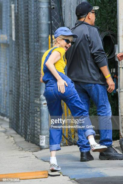 Hayley Williams is seen on May 17, 2017 in Los Angeles, California.