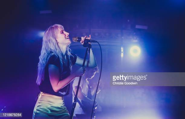Hayley Williams of Paramore performs on stage at the Royal Albert Hall on June 19 2017 in London, England.