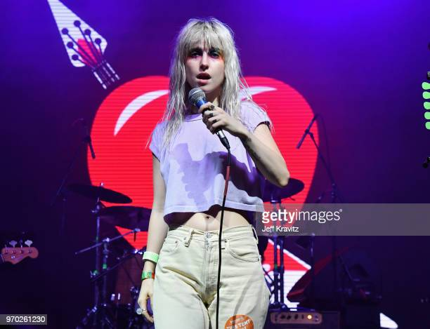 Hayley Williams of Paramore performs onstage during 'Into The Great Wide Open A Tom Petty Superjam' at This Tent during day 2 of the 2018 Bonnaroo...