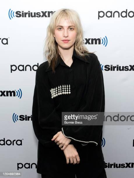 Hayley Williams visits SiriusXM Studios on February 07, 2020 in New York City.