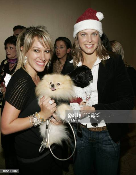 Haylie Duff and Arianne Zucker during The Jeep Yappy Hour And Febreze Pet Fashion Show sponsored by GW Little at Century Plaza Hotel in Century City...