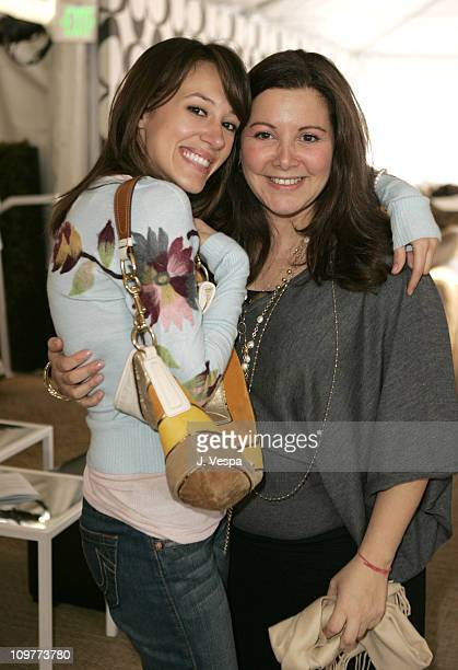 Haylie Duff and Deborah Waknin during Coach Flagship Store Opening on Rodeo Drive at Coach Store in Beverlry Hills California United States