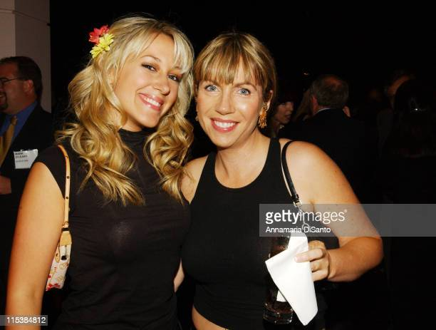 Haylie Duff and friend during 5th Annual Family Television Awards in Beverly Hills California United States
