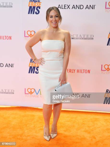 Haylie Duff arrives at the 24th Annual Race To Erase MS Gala at The Beverly Hilton Hotel on May 5 2017 in Beverly Hills California
