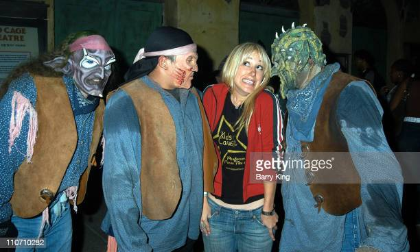 Haylie Duff at Knott's Scary Farm for the Halloween Haunt 31st year