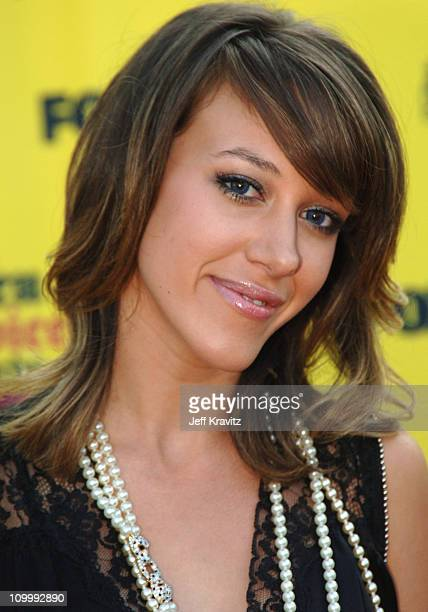 Haylie Duff during 2005 Teen Choice Awards Arrivals at Gibson Amphitheater in Universal City California United States