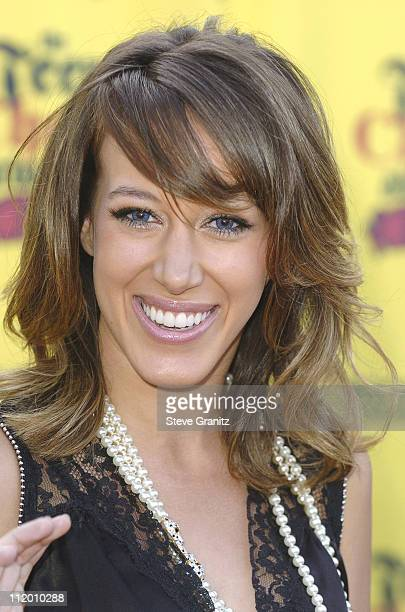 Haylie Duff during 2005 Teen Choice Awards Arrivals at Gibson Amphitheatre in Universal City California United States