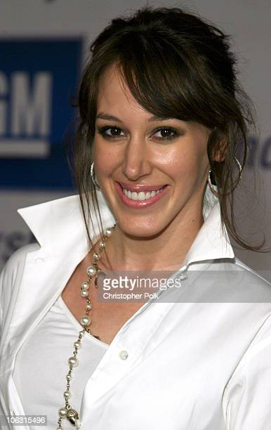 Haylie Duff during 2006 General Motors Annual ten Celebrity Fashion Show Arrivals at 1540 Vine Street in Hollywood California United States