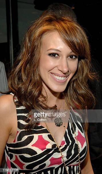 Haylie Duff during Diesel Presents Young Hollywood Awards Countdown March 30 2006 at Liberace's Penthouse in Los Angeles California United States
