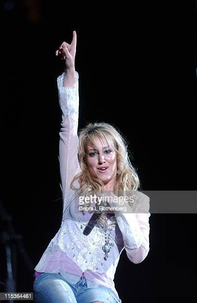 Haylie Duff during Haylie Duff and Hilary Duff in Concert July 25 2004 at Continental Arena in East Rutherford New Jersey United States