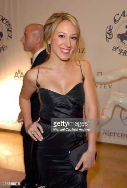 Haylie Duff during MercedesBenz Presents the 17th Carousel of Hope Ball Red Carpet at Beverly Hills Hilton in Beverly Hills California United States