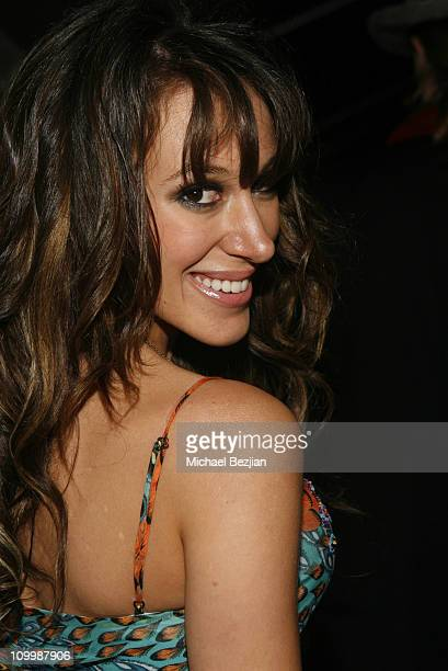 Haylie Duff during New Year's 2006 in Los Angeles Mansion Party at Private Residence in Los Angeles California United States