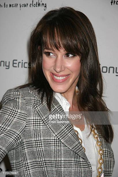 Haylie Duff during Sony Ericsson and Cingular Wireless Present The 2 B Free Fall 2006 Collection Red Carpet at Regent Beverly Wilshire in Beverly...