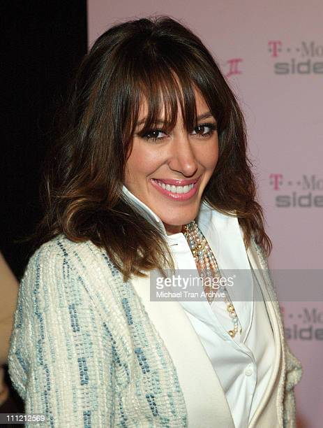 Haylie Duff during T-Mobile Limited Edition Sidekick II Launch - Arrivals at T-Mobile Sidekick II City in Los Angeles, California, United States.