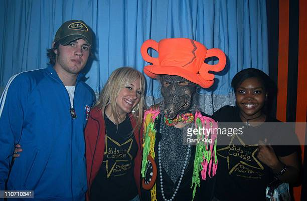 Haylie Duff Greg Carney RuDee Lipscomb at Knott's Scary Farm for the Halloween Haunt 31st year