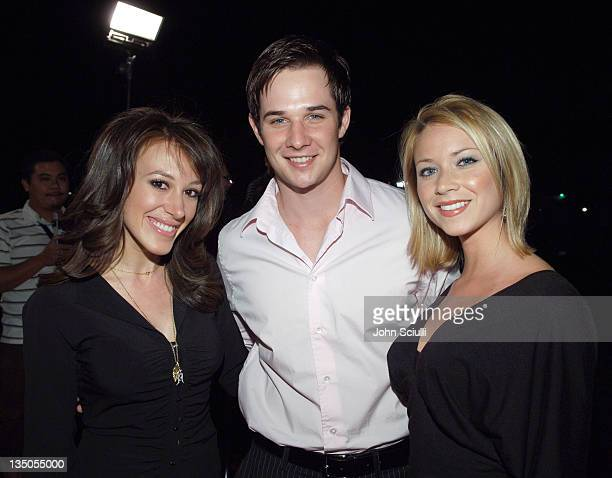 Haylie Duff Ryan Merriman and Nicole Merriman during Cosmopolitan Presents Its Fun Fearless Male Awards Arrivals at Day After in Hollywood California...