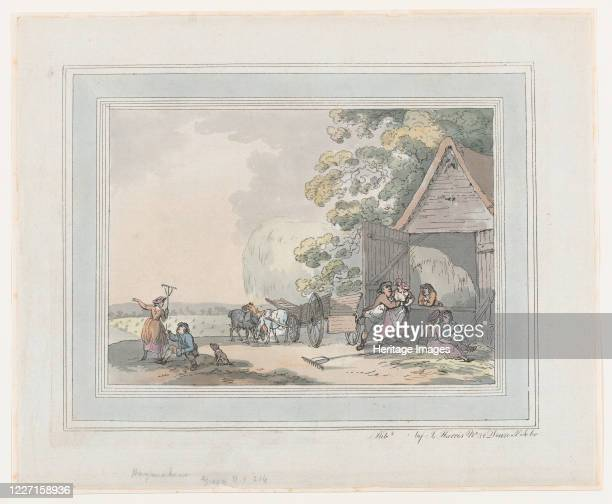 Haymakers, 1787. Artist Thomas Rowlandson.