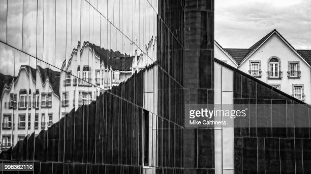 haymarket station reflections - mike caithness stock pictures, royalty-free photos & images