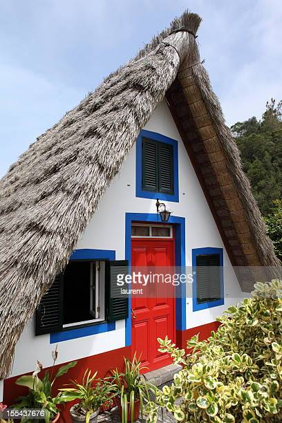 palheiro in santana, madeira - madeira island stock photos and pictures