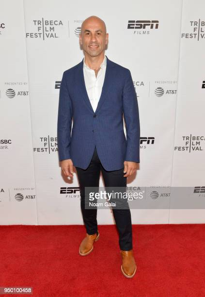 Haytham Faraj attends a screening of House Two during the 2018 Tribeca Film Festival at Cinepolis Chelsea on April 22 2018 in New York City