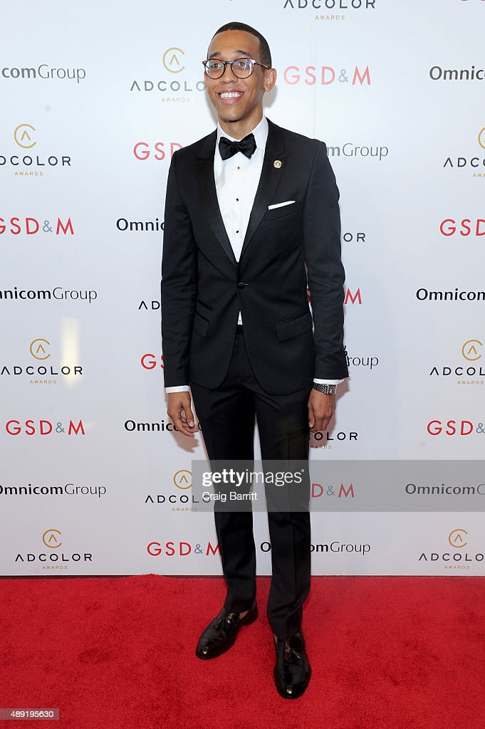 Haywood Watkins III, WPP Fellow at WPP, attends the 9th Annual ADCOLOR Awards at Pier 60 on September 19, 2015 in New York City.