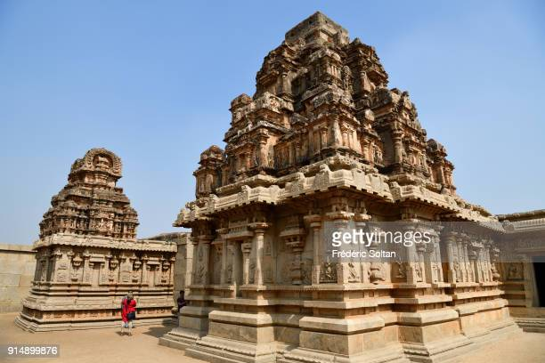 Hazara Rama Temple in Hampi is an important shrine. Hampi is a village and a group of monuments, a UNESCO World Heritage Site located in Karnataka...