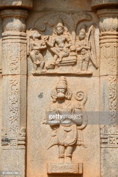 Hazara Rama Temple in Hampi is an important shrine Hampi is a village and a group of monuments a UNESCO World Heritage Site located in Karnataka...