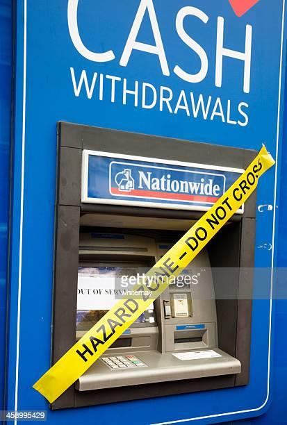 危険を警告の現金機