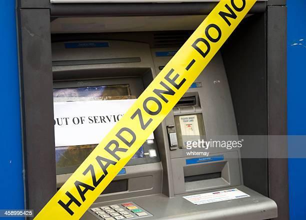 Hazard zone cash machine