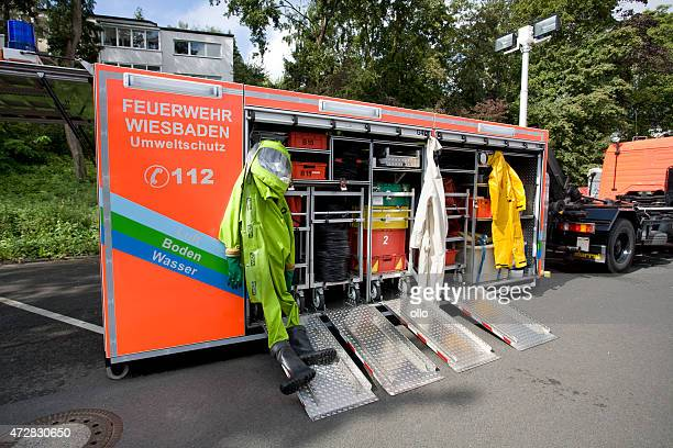 Hazardous materials apparatus - Fire department Wiesbaden, Germany