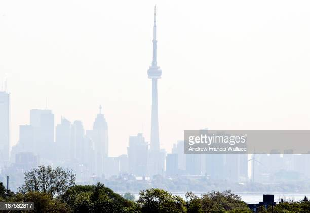 Haze over the CN Tower and downtown Toronto from Islington Ave south of Evans Ave A smog advisory has been issued for the city of Toronto and much of...