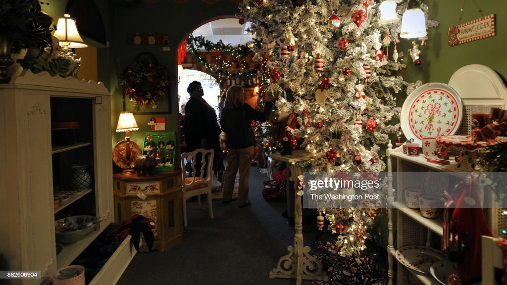 The Things I Love store in Manassas VA full of Christmas trees : News Photo