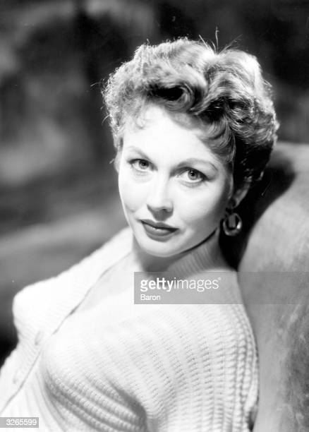 Hazel Court the red haired British leading lady who moved into horror films and then emigrated to live in Hollywood