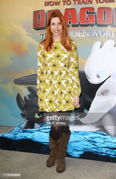 Hazel Hayes attends How To Train Your Dragon The Hidden World – Immersive Screening on January 26 2019 in London England