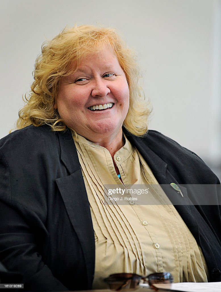 Hazel Heckers participates in an identity theft board meeting in the Jefferson County District Attorney's offices in Golden, on Wednesday afternoon, Sept. 8, 2010. Heckers is a victim's advocate specializing in identify theft and fraud. Diego James Robles, The Denver Post