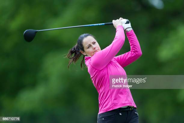 Hazel Kavanagh from Carr Golf Centre at Spawell during the 2017 Titleist Footjoy PGA Professional Championship Irish Qualifier at Luttrellstown...