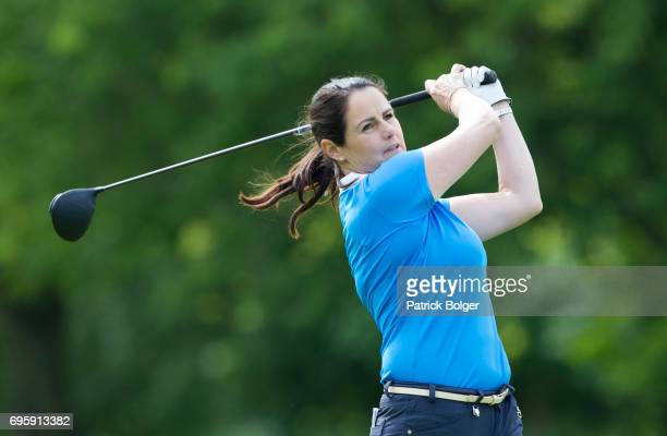 Hazel Kavanagh from Carr Golf Centre at Spawell during the Titleist and Footjoy PGA Professional Championship at Luttrellstown Castle on June 14 2017...