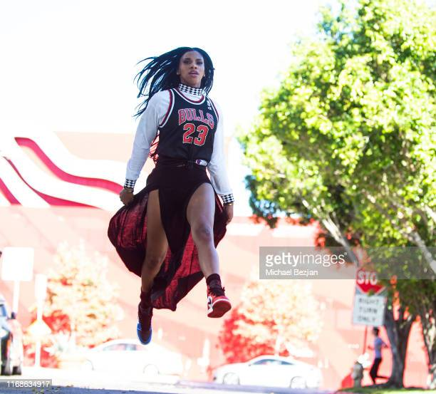 Hazel Love at TAP The Artists Project Giveback Day on August 16 2019 in Los Angeles California