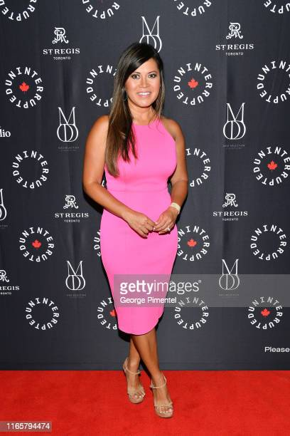 Hazel Mae attends the Uninterrupted Canada Launch held at Louis Louis at The St Regis Toronto on August 02 2019 in Toronto Canada