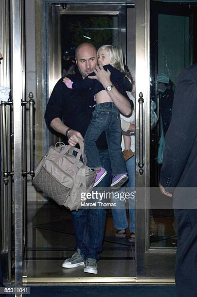Hazel Moder daughter of actress Julia Roberts is seen on the streets of Manhattan on March 7, 2009 in New York City.